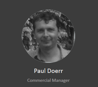Paul Doer - Commercial Manager
